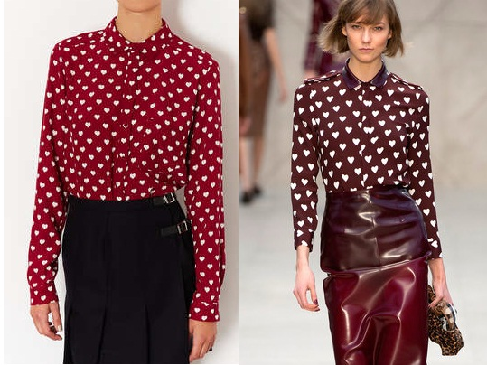 Topshop vs Burberry Prorsum