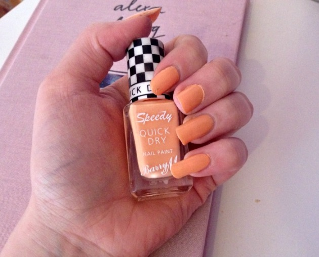 Barry M Speedy Quick Dry Nail Polish Full Throttle