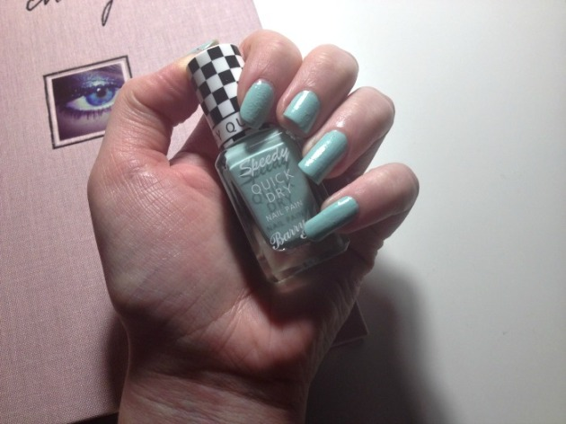 Barry M Speedy Quick Dry Nail Polish Road Rage
