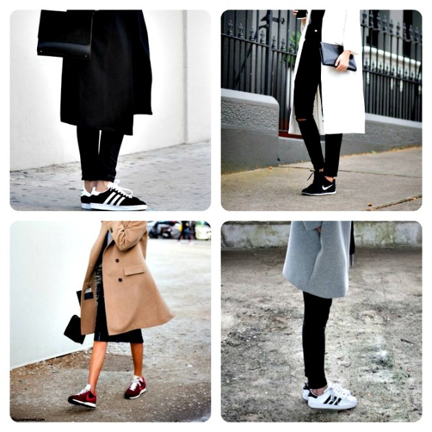 Sneakers and Coats