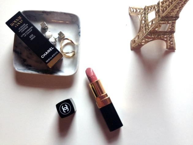 Chanel Rouge Coco Cecile Lipstick