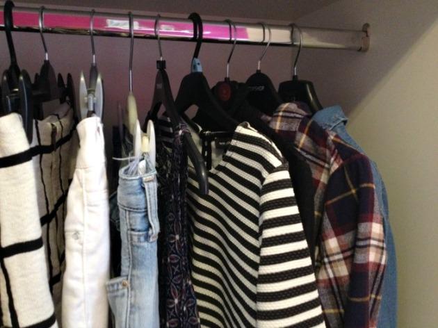 Wardrobe Spring Clean