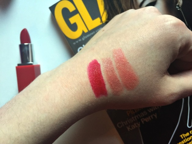 Clinique Lip Pop Primer Swatches