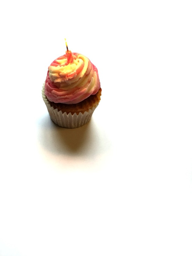 Blogging Birthday Cupcake