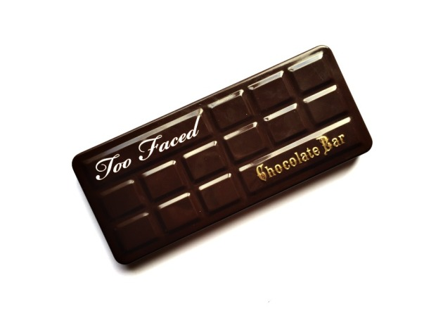 Too Faced chocolate bar eyeshadow palette swatches review