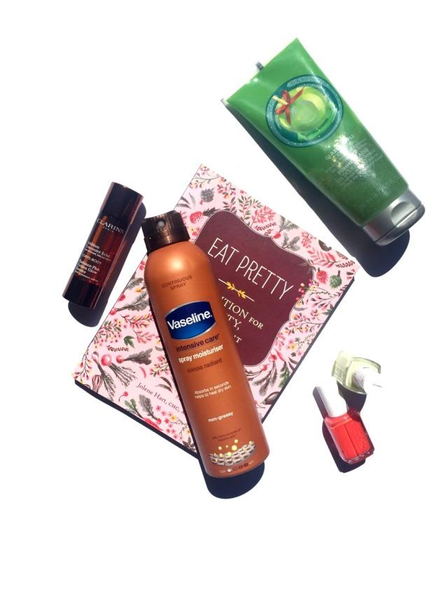 Summer-prep-beauty-pre-holiday-makeup-skincare-tanning-tan-exfoliate-moisturise-nails-essie