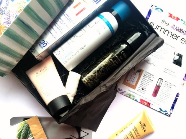 latest-in-beauty-box-glamour-summer-edit-st-tropez-tan-makeup-cleanser-oribe-texturising-spray