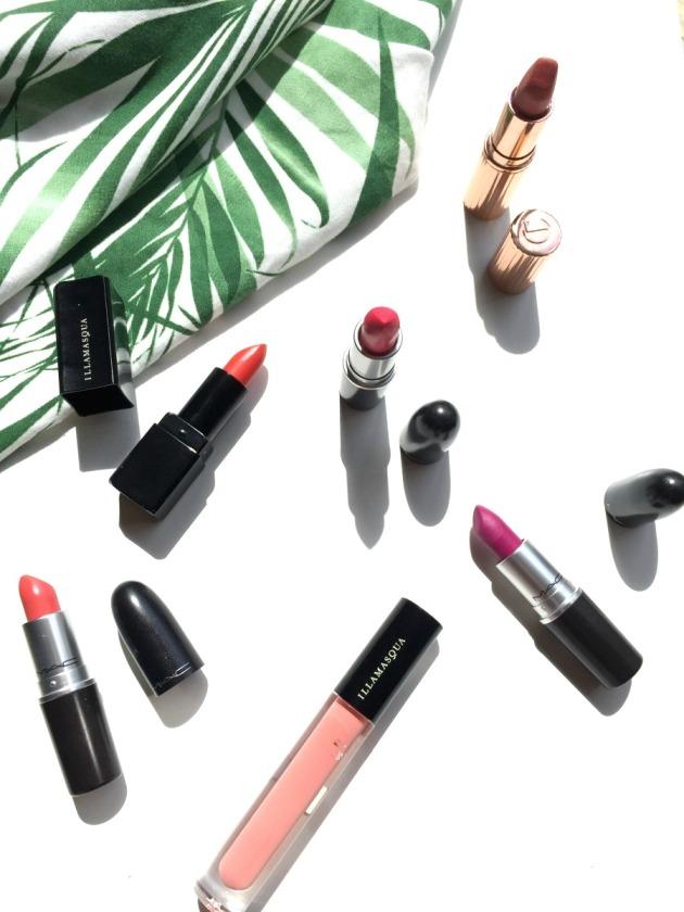 summer-lip-beauty-lipstick-picks-edit-mac-charlotte-tilbury-illamasqua-makeup-bright-lips-summery