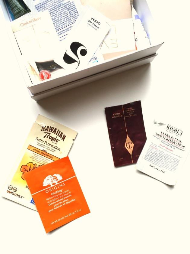 sample-beauty-box-origins-makeup-skincare-trial-charlotte-tilbury-kiehls