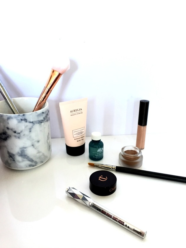 Beauty Favourites August Makeup Summer Benefit Charlotte Tilbury Becca Origins Aurelia Mac Cosmetics Eyeshadow Highlighter Real Techniques Bold Metals Brushes