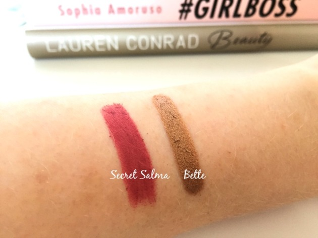Charlotte Tilbury Swatches Makeup Beauty Lipstick Hot Lips Secret Salma Bette Eyeshadow Swatch Eyes to Memerise