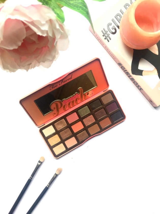 Too Fcaed, Sweet Peach, Eyeshadow Palette, Holiday 2016, Spring 2016, Beauty, Swatches, Review