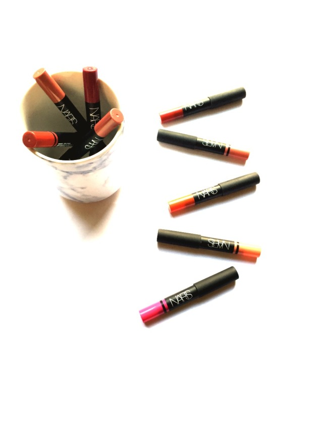 nars lip pencils, review, swatches, walkyrie, bahama, cruella, mandore, damned, yu, descanso, torres del paine, iberico