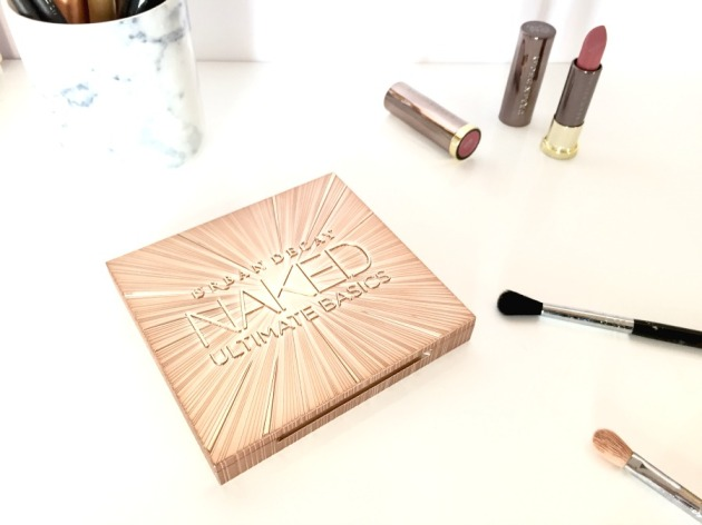 urban decay, naked, ultimate basics, packaging, review, gold, matte, eyeshadows,